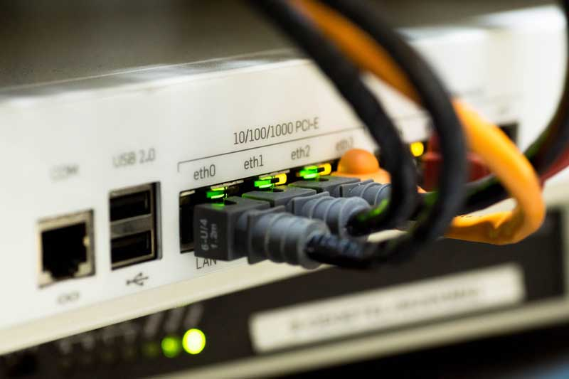Videoüberwachung mit Netzwerktechnik