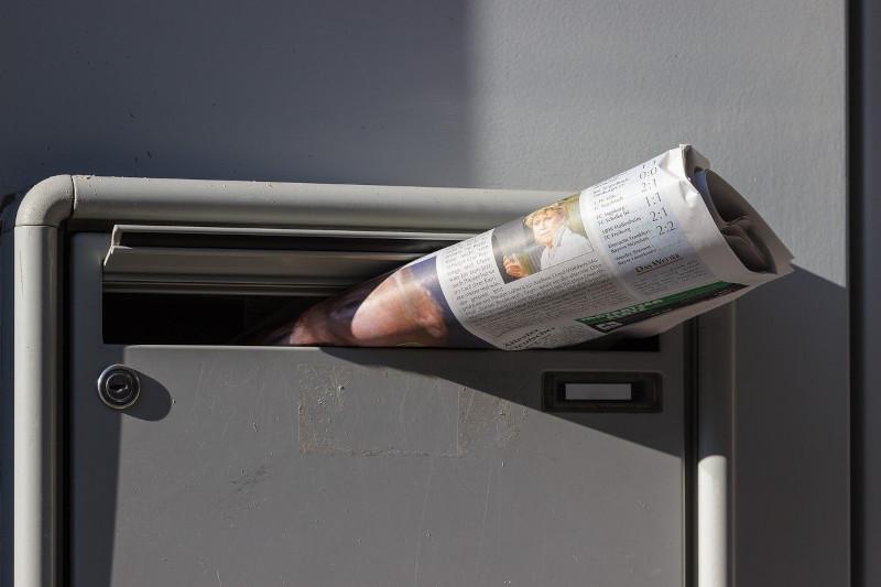 Einbrecher-Tricks - voller Briefkasten